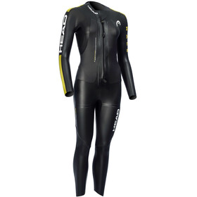 Head SwimRun Race Suit Dame black /gold